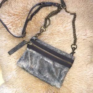 J. Crew Leather Crossbody Purse/Wallet
